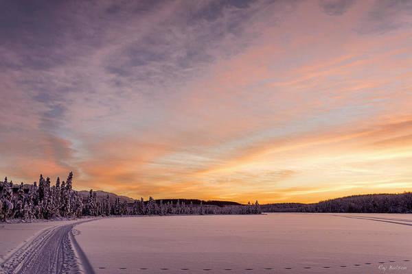 Elmendorf Photograph - Clunie Lake One by Ray Bulson