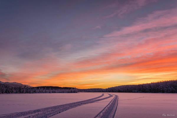 Elmendorf Photograph - Clunie Lake Three by Ray Bulson