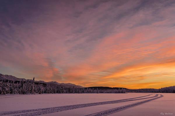 Elmendorf Photograph - Clunie Lake Two by Ray Bulson