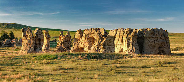 Montana State Photograph - Cluster Of Rocks by Todd Klassy