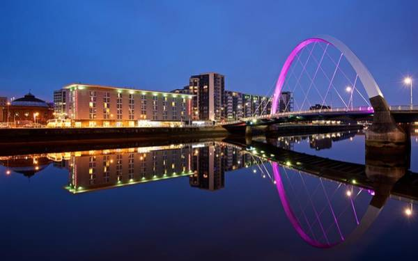 Photograph - Clyde Arc Glasgow by Stephen Taylor