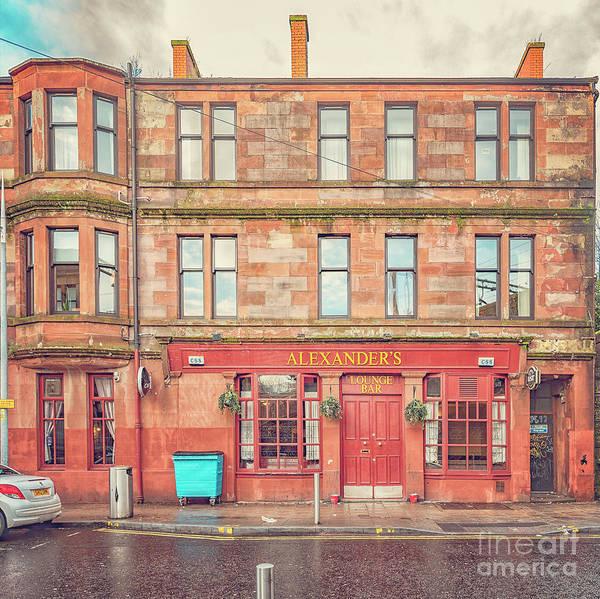 Wall Art - Photograph - Clydebank Alexanders Bar by Antony McAulay