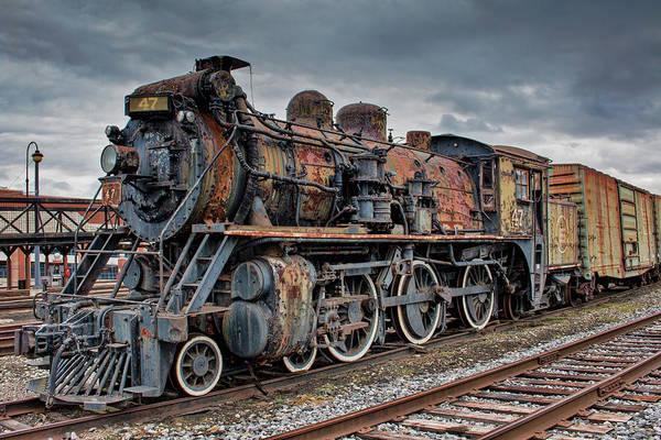 Photograph - Cn Locomotive 47 by Kristia Adams