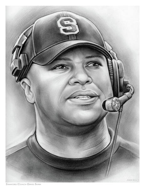 Coach David Shaw Art Print