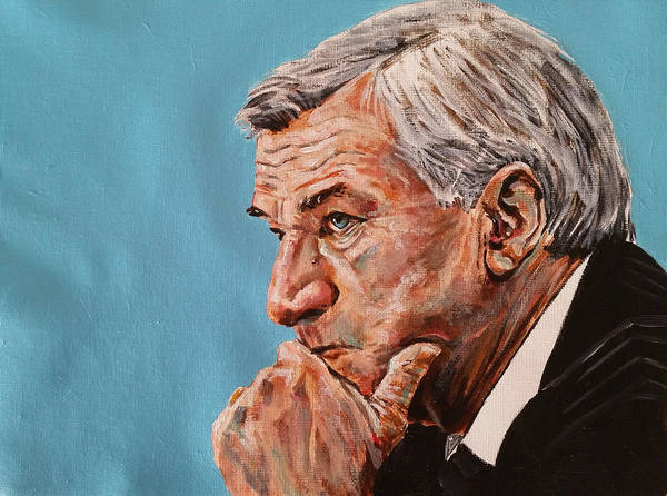 Coach Dean Smith Art Print