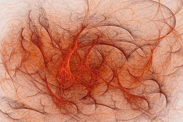 Digital Art - Fractal Coagulopathy by Doug Morgan