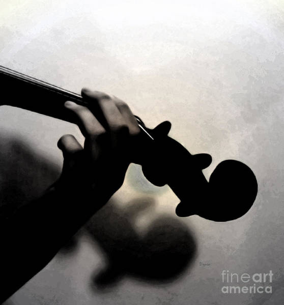 Violin Wall Art - Photograph - Coalescence  by Steven Digman