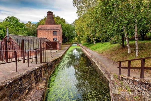 Photograph - Coalport Bottle Kiln  by Adrian Evans