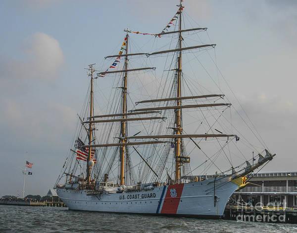 Photograph - Coast Guard Barque Eagle by Dale Powell
