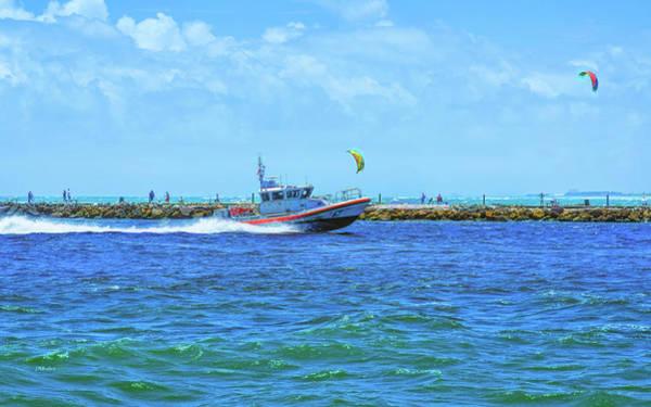 Photograph - Coast Guard Patrol by John M Bailey