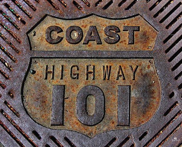 Coast Highway 101 Art Print
