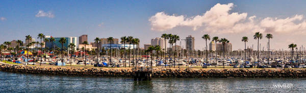 Digital Art - Coast Of Long Beach #3 by Bob Winberry