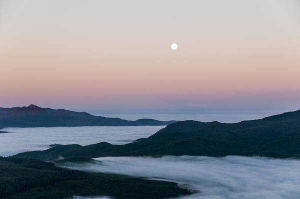 Photograph - Coast Range And Ground Fog by Robert Potts