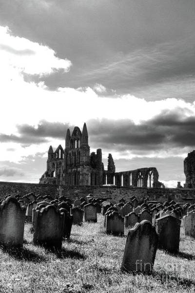 Abbey Photograph - Coast - Whitby Abbey by Mary Bassett