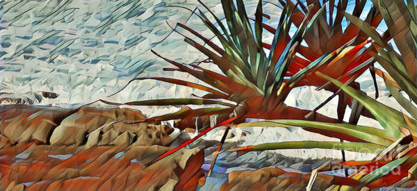 Queensland Digital Art - Coastal Abstract #1 by Trudee Hunter