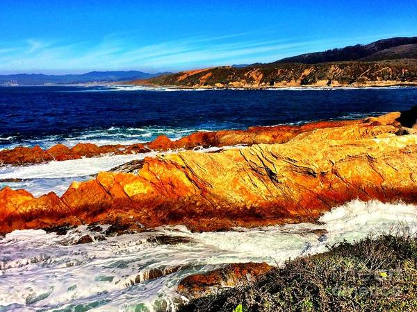 Photograph - Coastal Abstraction by S Forte Designs