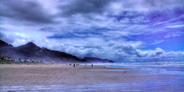 Photograph - Coastal Clouds by David Patterson