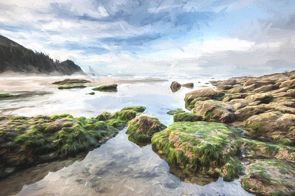 Beautiful Sunrise Digital Art - Coastal Colors II by Jon Glaser