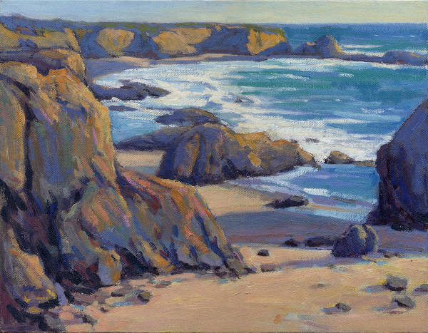 Painting - Coastal Cruising 7  by Konnie Kim