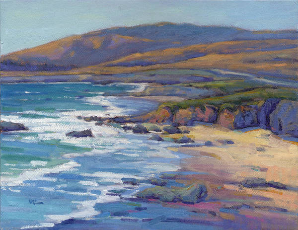 Painting - Coastal Cruising 8  by Konnie Kim