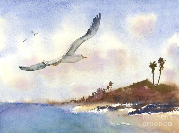 Painting - Coastal Flight by Amy Kirkpatrick