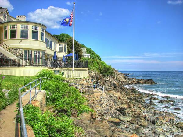 Photograph - Coastal Maine by LR Photography