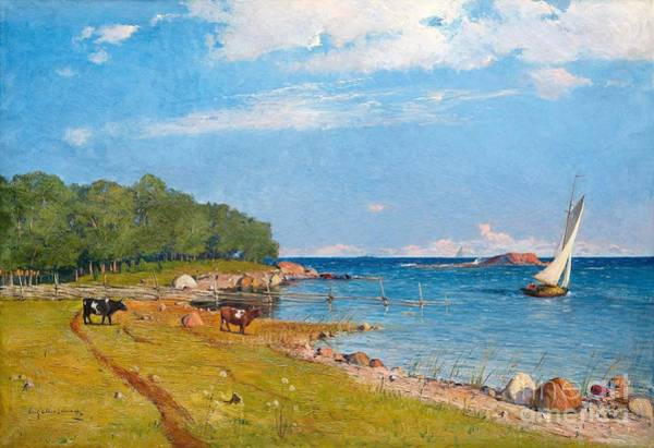 Painting - Coastal Moti by Celestial Images