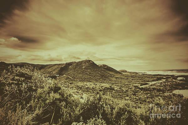 Trial Harbour Wall Art - Photograph - Coastal Mountain Range  by Jorgo Photography - Wall Art Gallery