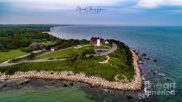 Photograph - Coastal Nobska Point Lighthouse by Michael Hughes