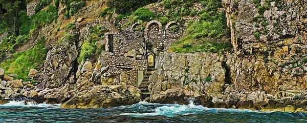 Wall Art - Photograph - Coastal Roman Ruins Island Of Capril Italy by Russ Harris