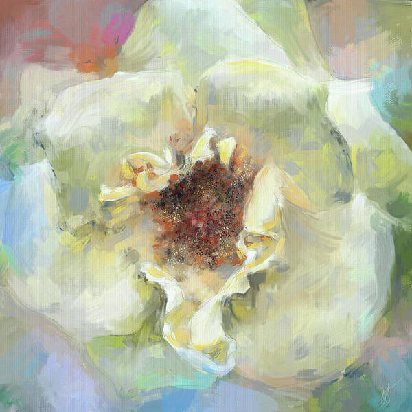 Painting - Coastal Rose by Jai Johnson