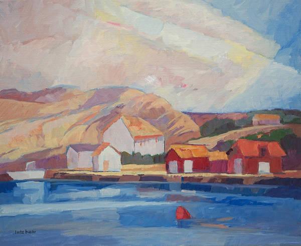 Painting - Coastal Summer by Lutz Baar