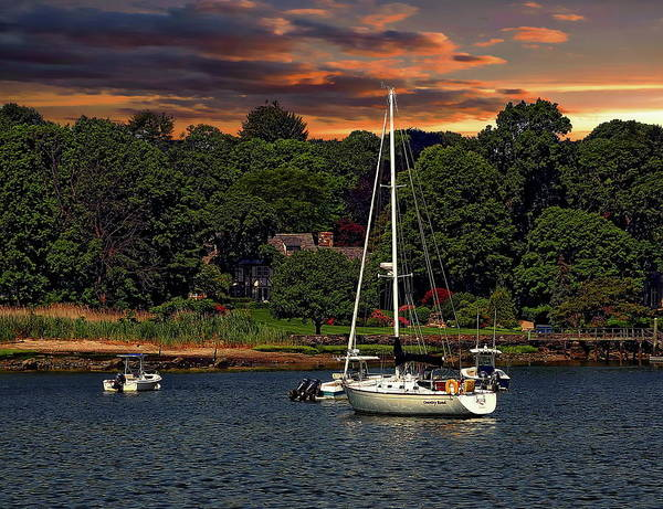 Photograph - Coastal Sunset by Anthony Dezenzio