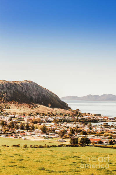 Geology Photograph - Coastal Tasmanian Town by Jorgo Photography - Wall Art Gallery