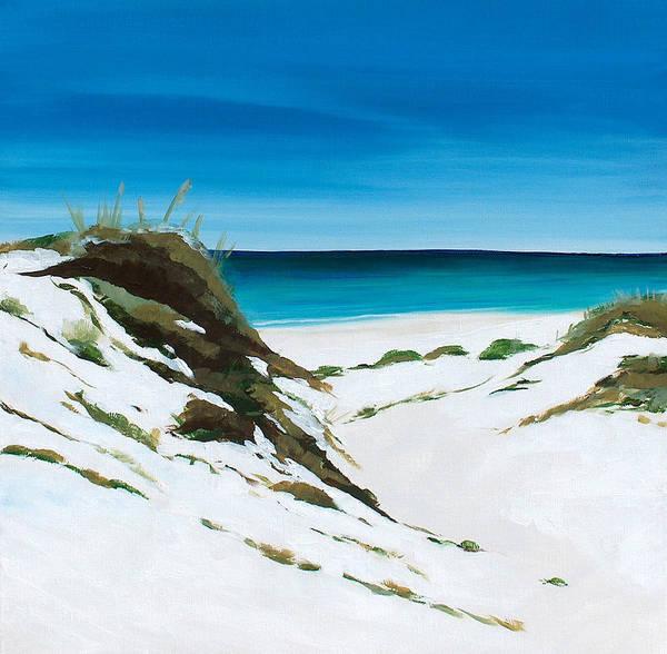 Wall Art - Painting - Coastal Treasure by Racquel Morgan