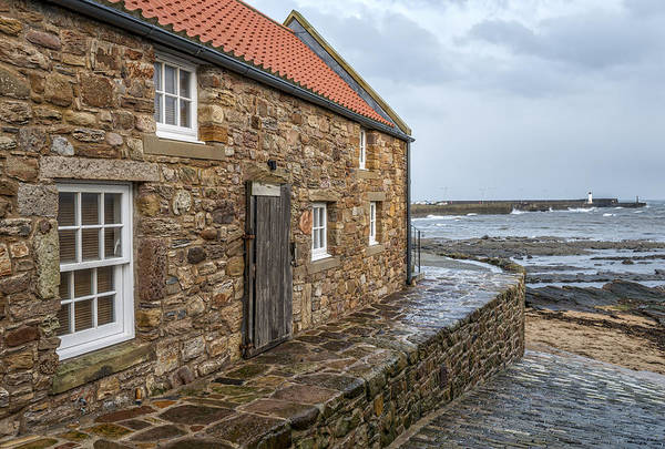Photograph - Coastal View In Anstruther  by Jeremy Lavender Photography