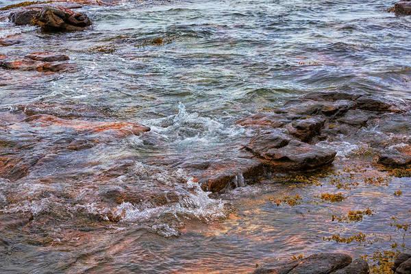 Photograph - Coastal Waters Of Acadia by John M Bailey