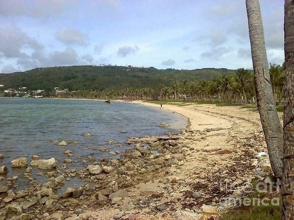 Coastline In Guam II Art Print