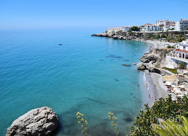 Mary Machare - Coastline of Nerja-Spain