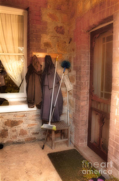 Photograph - Coats And Brooms by Elaine Teague