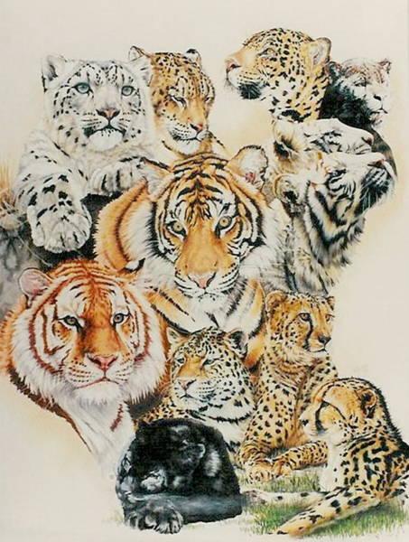 Drawing - Coats Of Many Colors by Barbara Keith
