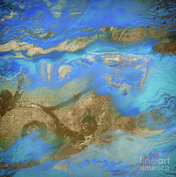 Wall Art - Painting - Cobalt Sea by Mindy Sommers