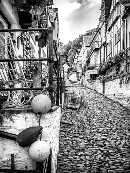 Photograph - Cobbled Streets Of Clovelly by Nick Bywater
