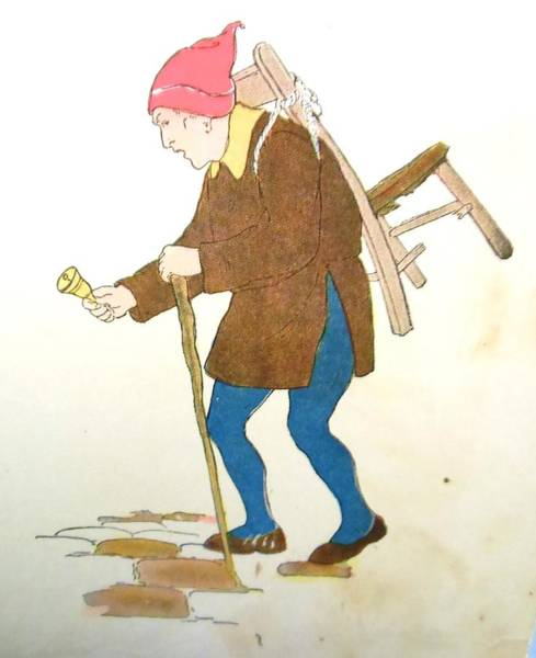 White Goose Drawing - Cobbler  by Lord Frederick Lyle Morris - Disabled Veteran
