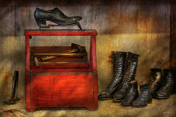Photograph - Cobbler - Life Of The Cobbler by Mike Savad