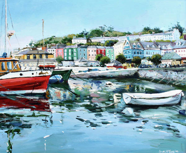 County Cork Wall Art - Painting - Cobh Harbour County Cork by Conor McGuire