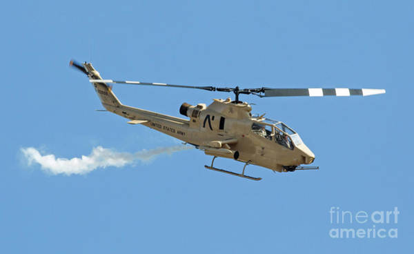Photograph - Cobra Attack Helicopter by Kevin McCarthy