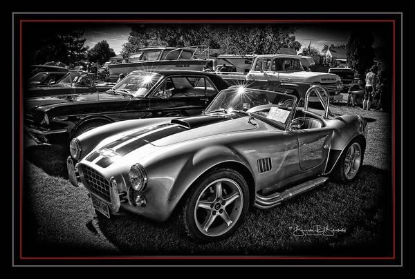Wall Art - Photograph - Cobra Sports Car by Brenda D Busskohl