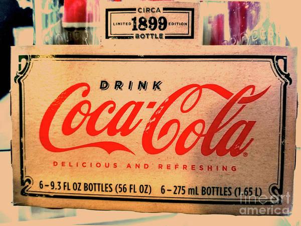 Soda Pop Mixed Media - Coca Cola 1899 Canvas Print,photographic Print,art Print,framed Print,greeting Card,iphone Case, by David Millenheft