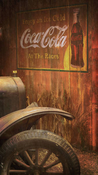 Photograph - Coca Cola Advertisement by Susan Rissi Tregoning